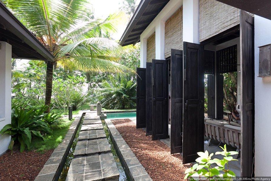 Виллы на Шри-Ланка или где остановиться туристу