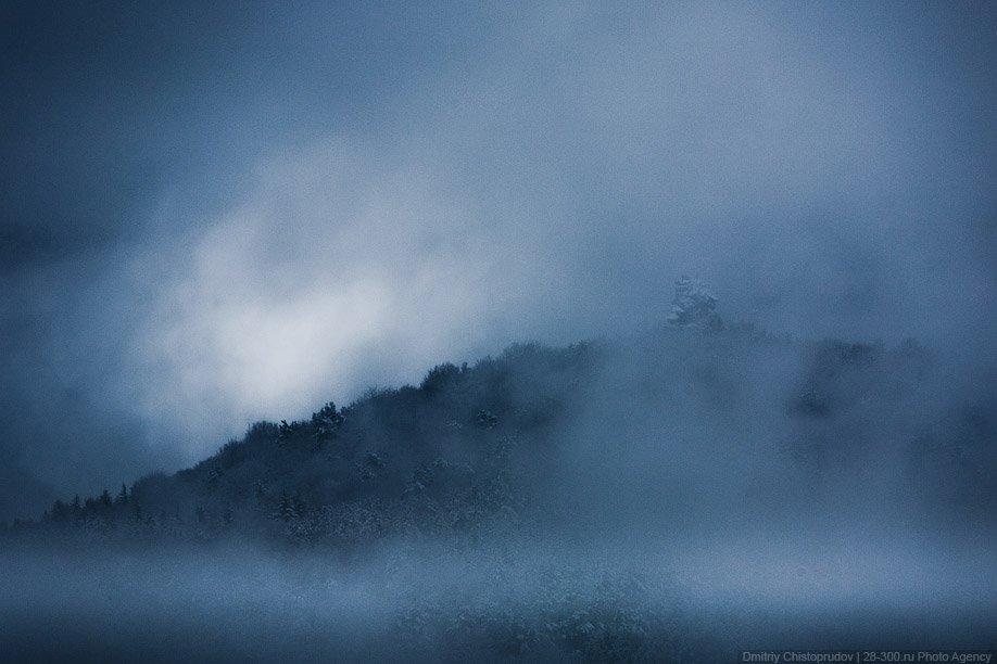 В поисках замков в Пфальцском лесу: снежный репортаж