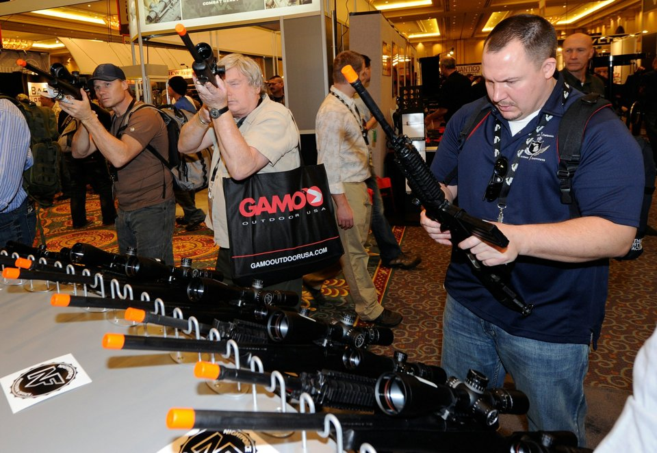 Выставка оружия в Неваде