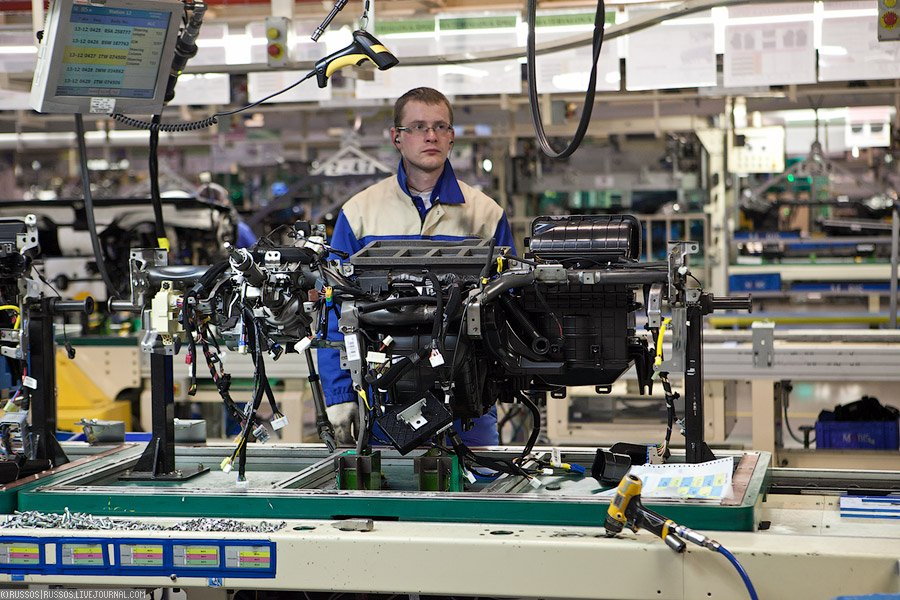 Как производят комплектующие для автомобилей КИА