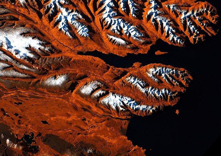 Спутниковые фотографии Земли как искусство