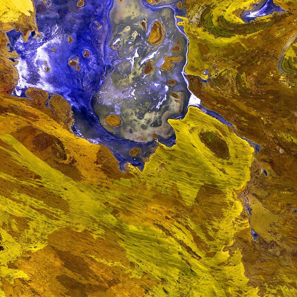 Дисаппойнтмент — солёное озеро в Западной Австралии