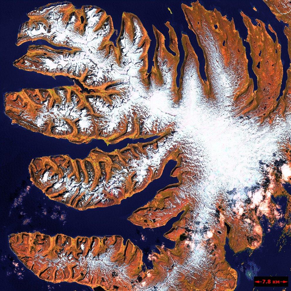 Западные Фьорды — несколько полуостровов на северо-западе Исландии