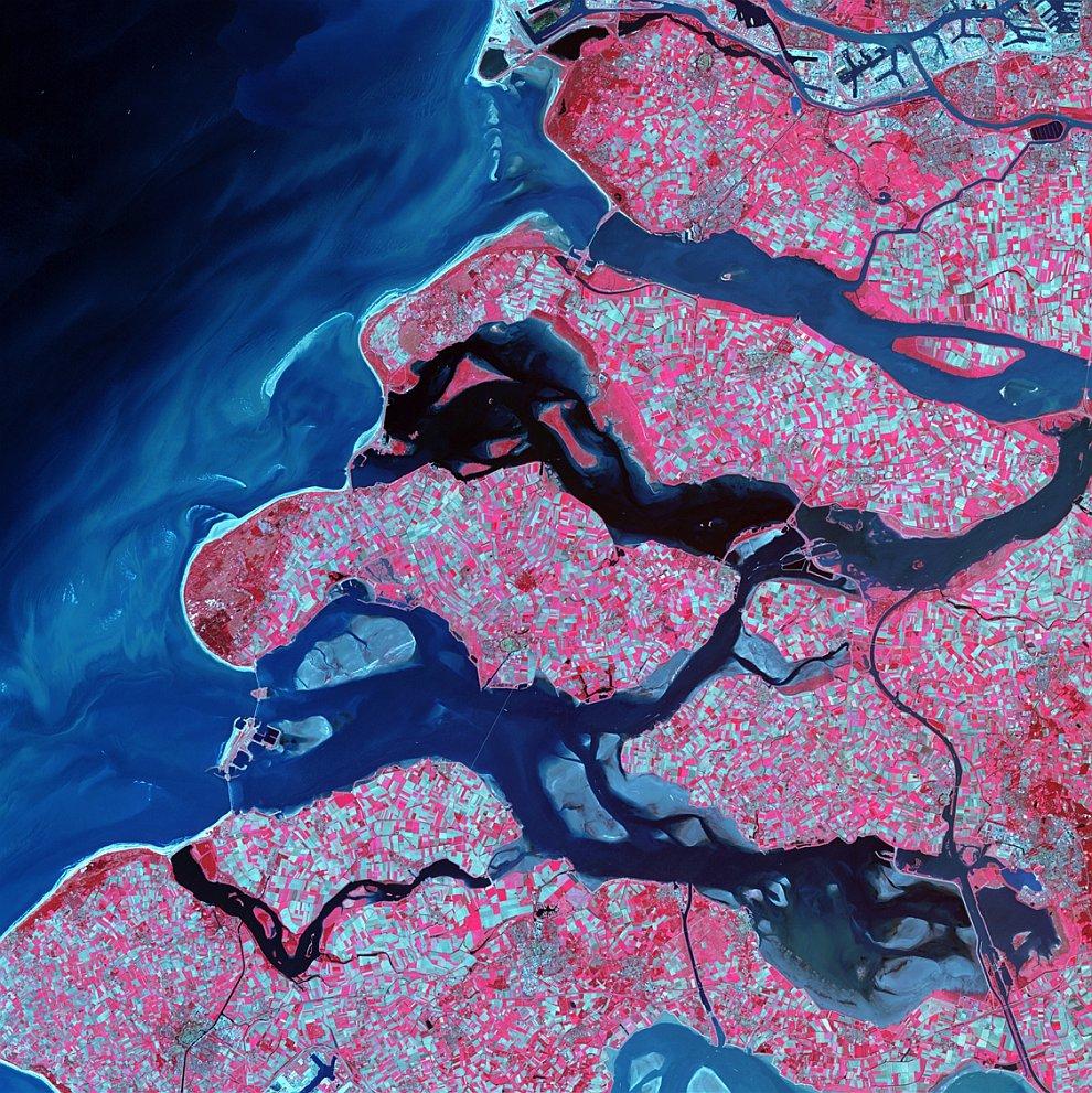Дельта вдоль южного побережья Нидерландов