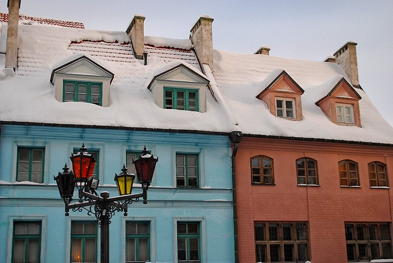 Зимняя Рига