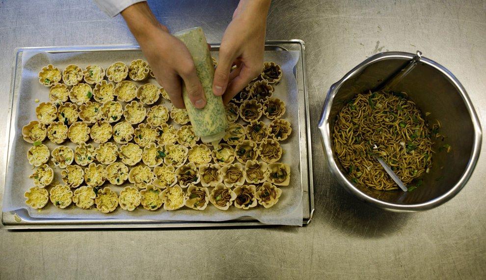 Блюда из насекомых от Арнольда ван Хейса