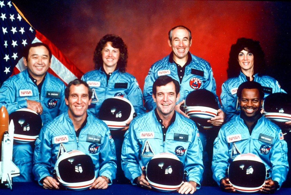 Экипаж космического корабля «Челленджер»