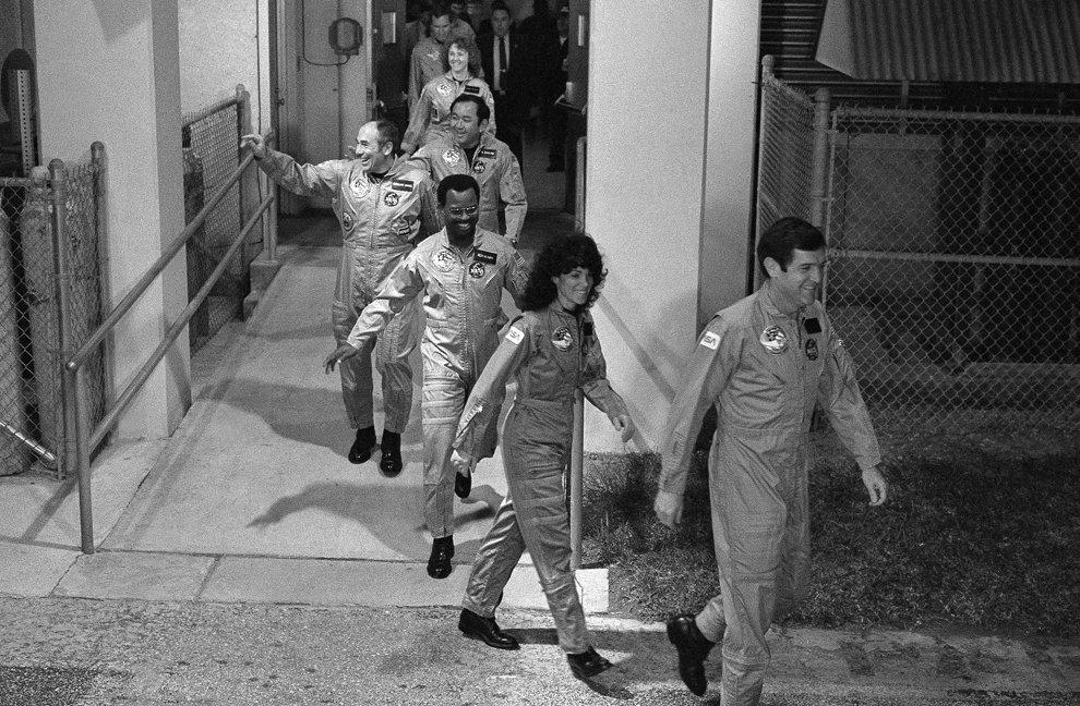 Экипаж космического корабля Челленджер