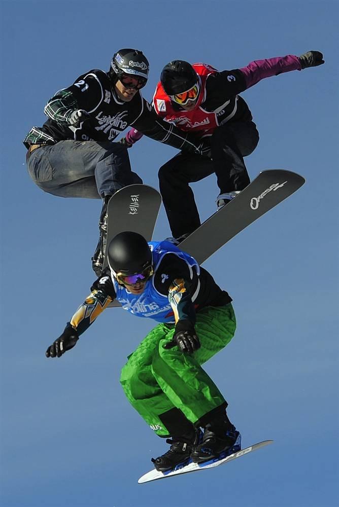 Соревнования по сноуборд-кроссу (Взято с сайта www.LoveOpium.ru)