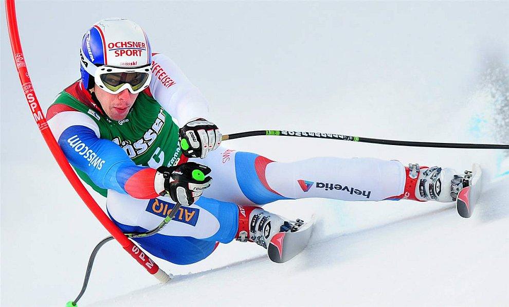 Швейцарский горнолыжник Карло Янка (Взято с сайта www.LoveOpium.ru)