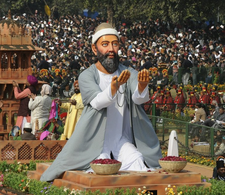 Празднование Дня республики в Индии