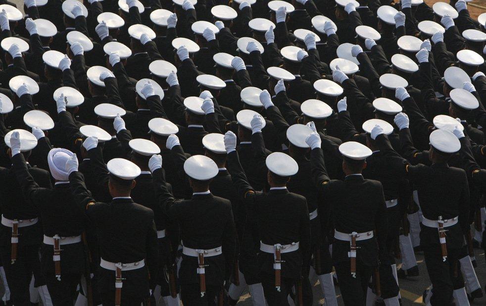 Военнослужащие военно-морских сил