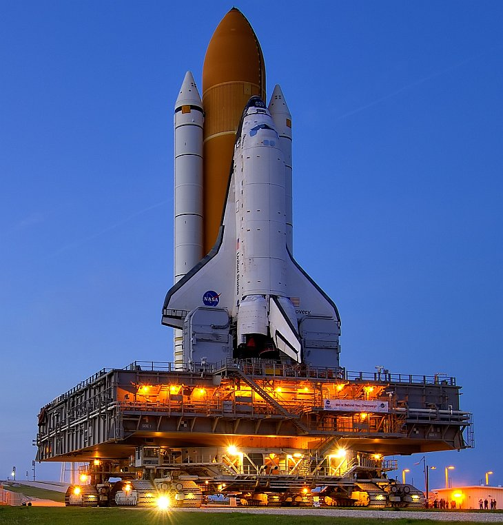 Подготовка шаттла «Дискавери» к последнему полету в космос