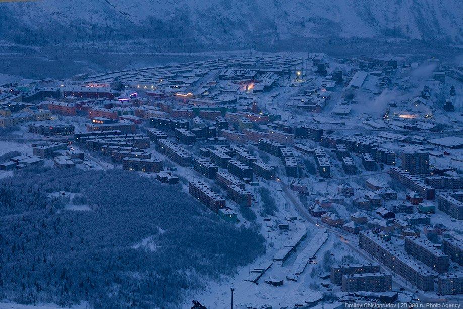 Заполярье. Кировск и горнолыжный курорт в Хибинах