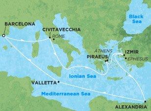 Морской круиз: 5 звезд в открытом море