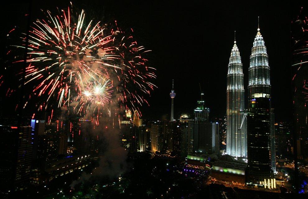 Новый год в Куала-Лумпур