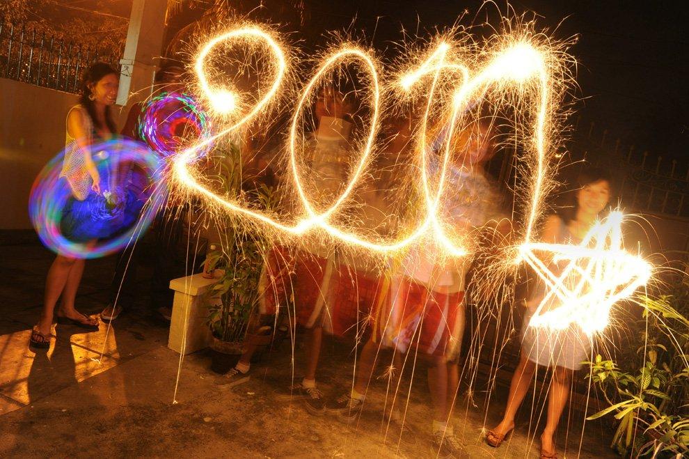 Новый год на Филлипинах