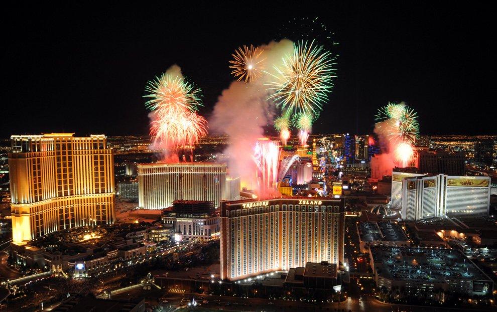 Новый год в Лас-Вегасе