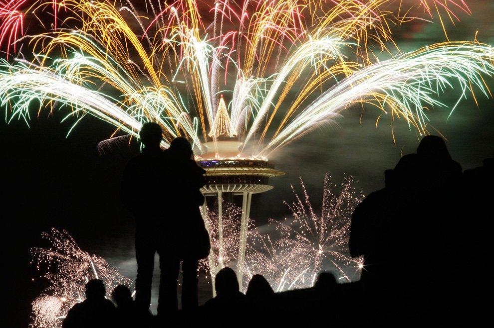 Новый год в Сиэтле
