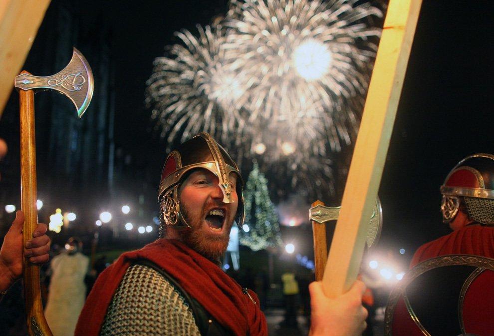 Новый год в Шотландии