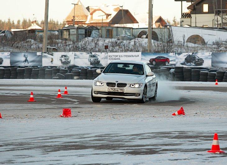 Экстремальный тест-драйв BMW Xperience