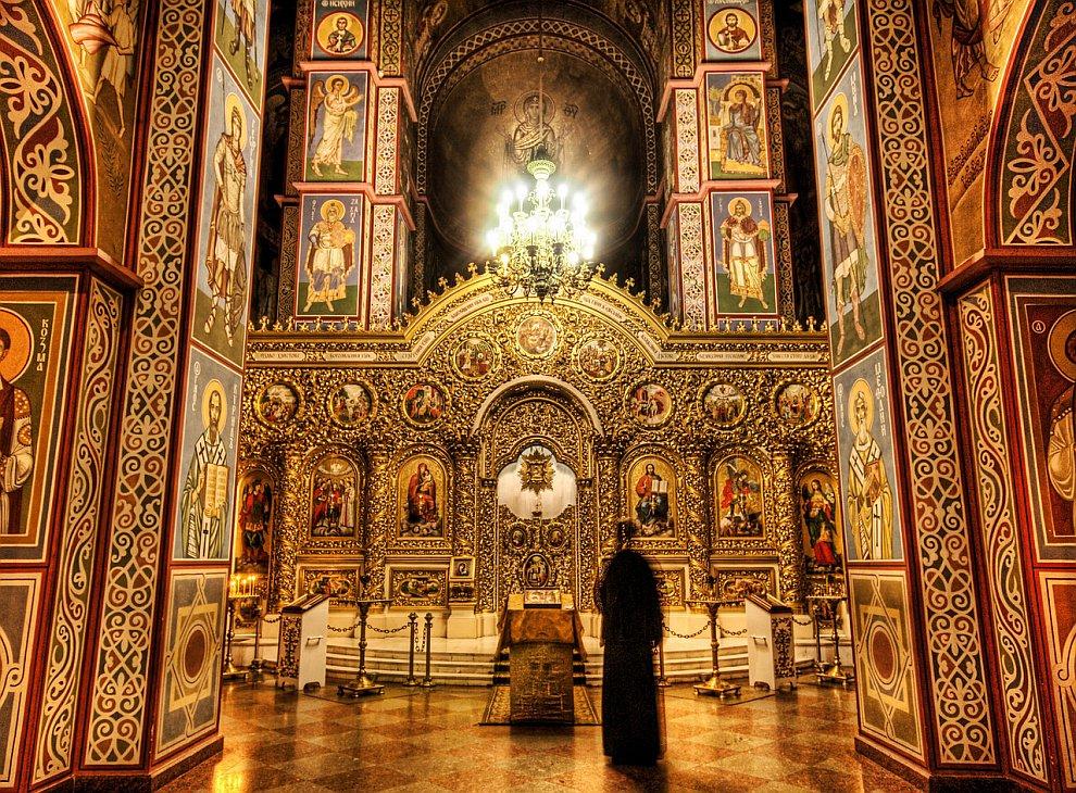 Призрак в соборе святого Михаила