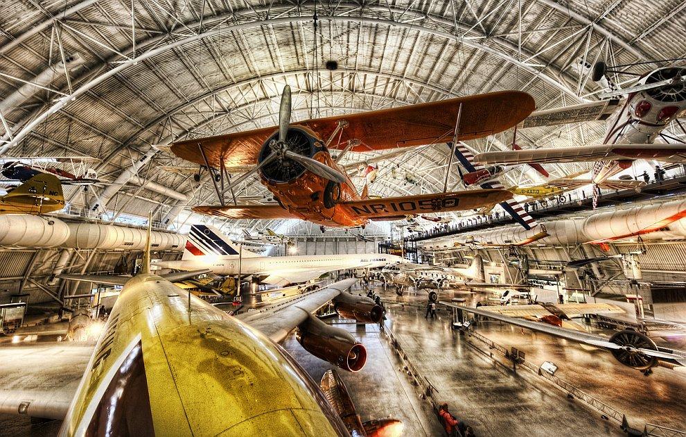 Музей авиации и космонавтики в Вашингтоне