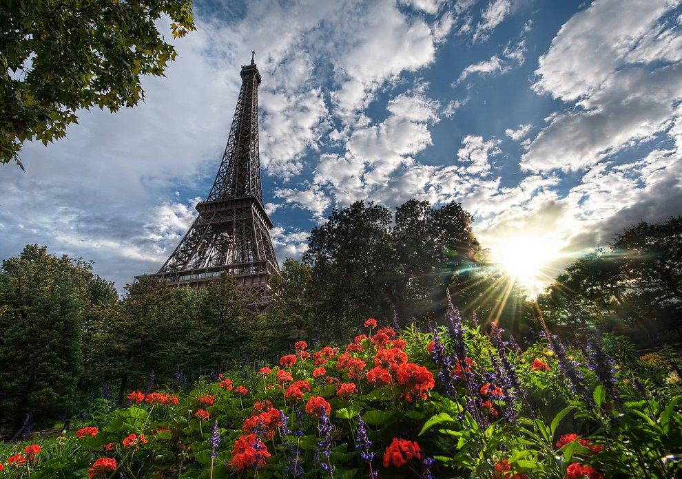 Город любви – Париж. Эйфелева башня