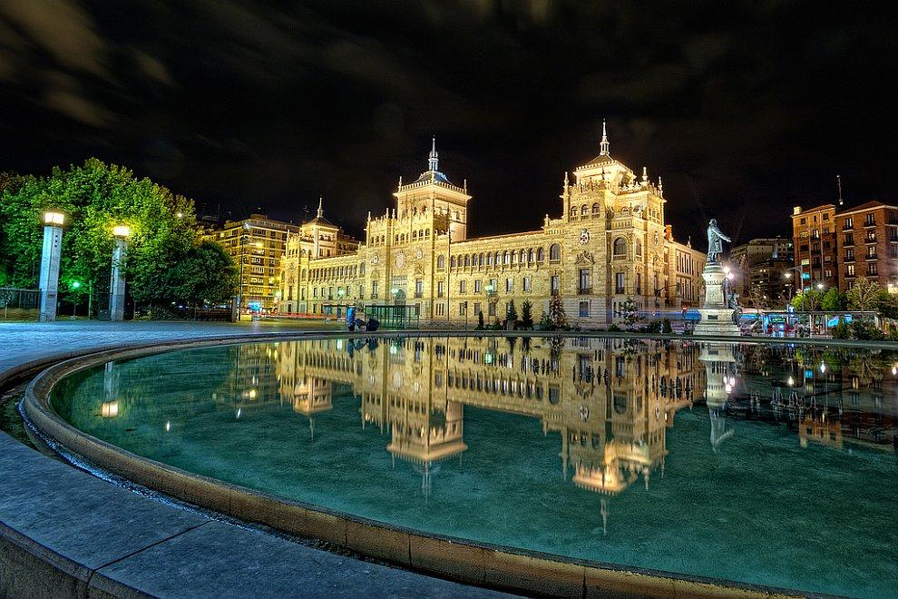 Главная площадь в Вальядолиде