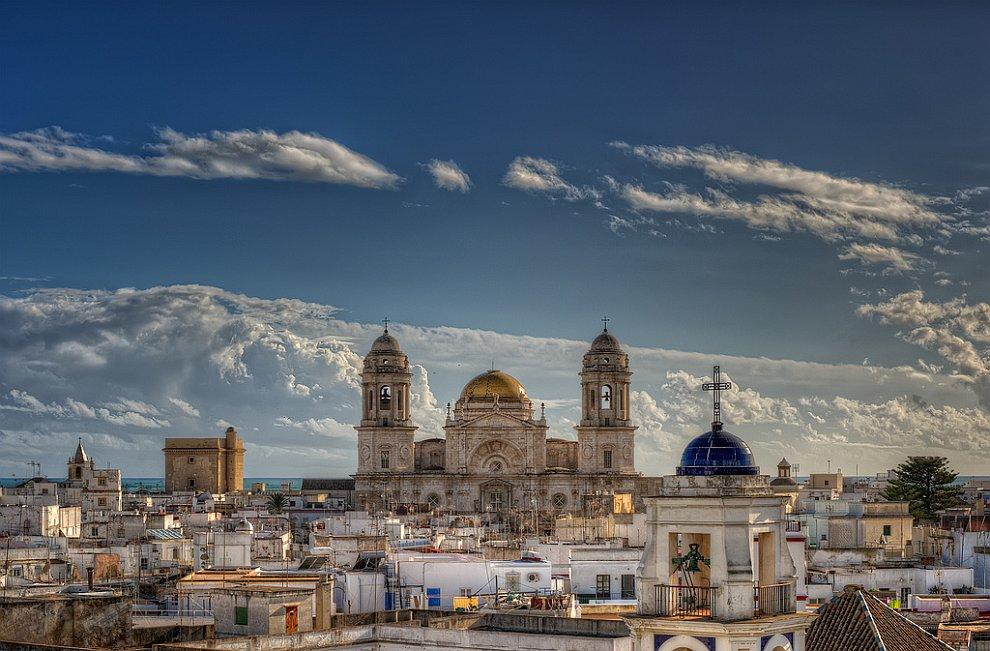 Кафедральный собор испанского города Кадис