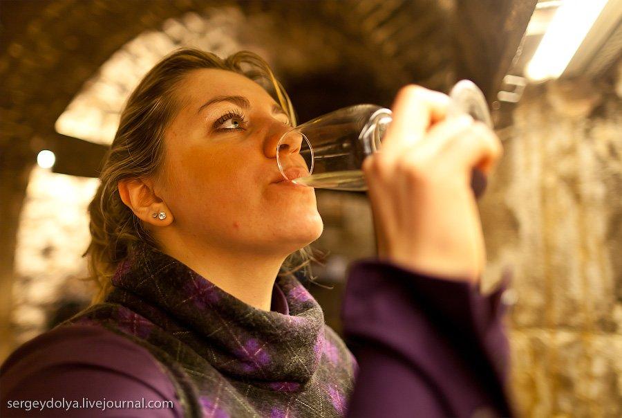 Как правильно пробовать вино