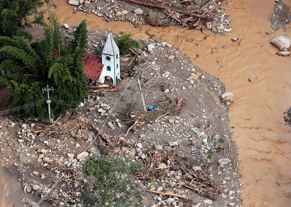 Наводнения и оползни в Бразилии