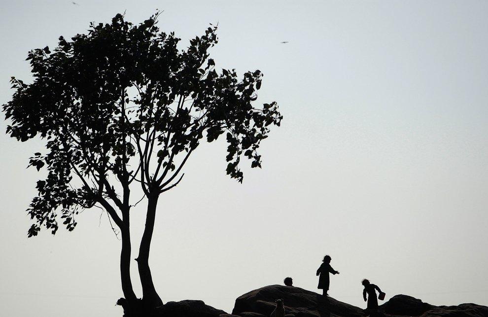 На холме