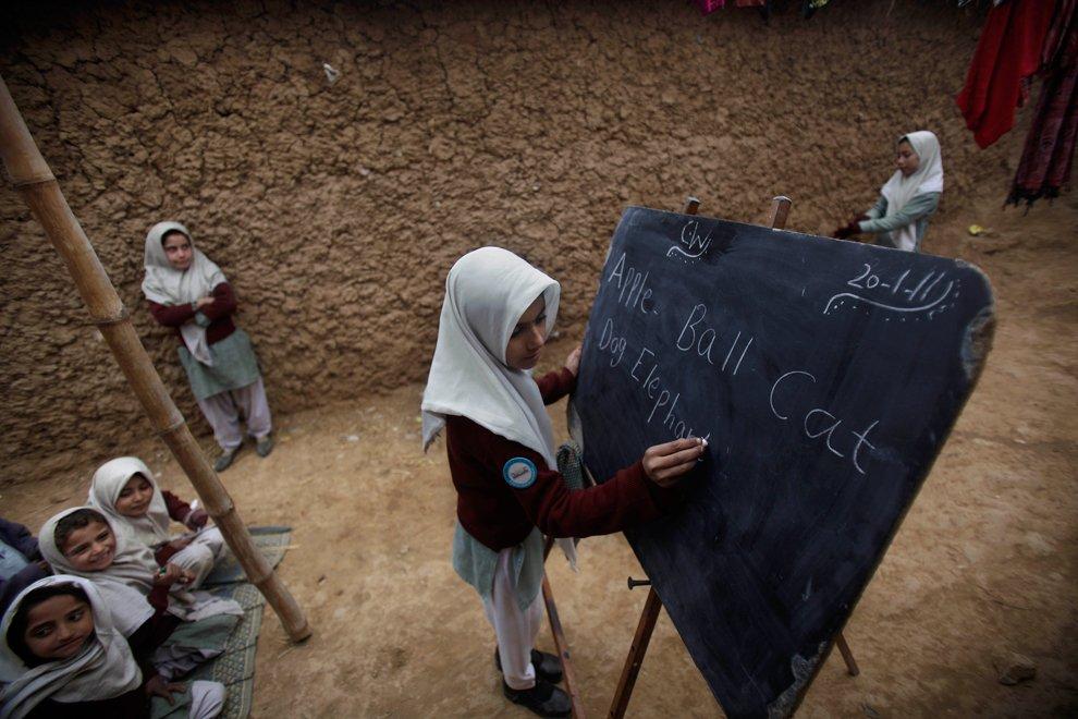 Школа на окраине Исламабада
