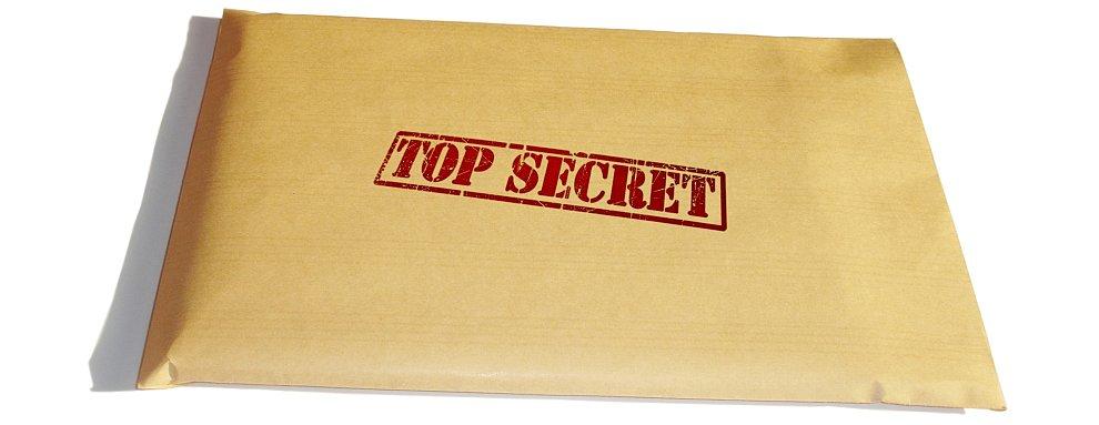 Личные секретные данные