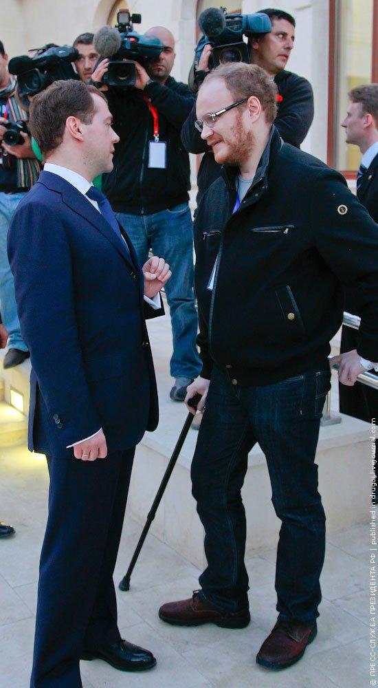 Медведев встретился с Кашиным