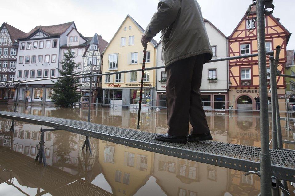 В Европе продолжаются наводнения
