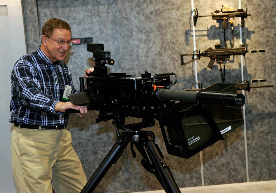 Ежегодная выставка оружия в штате Невада