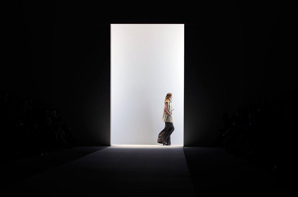 За кулисами недели высокой моды в Нью-Йорке