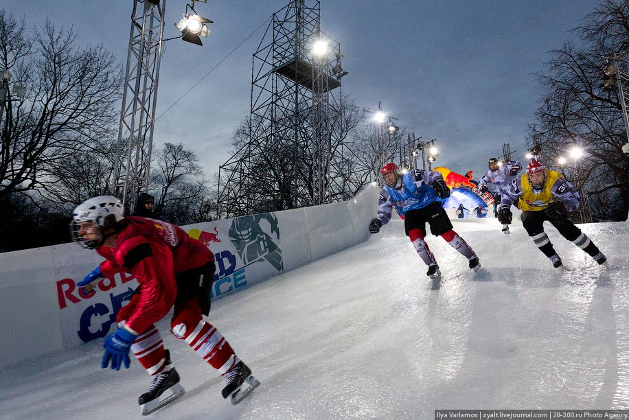 Red Bull Crashed Ice 2011 в Москве