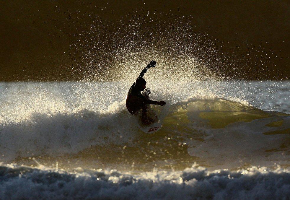 Зимний серфинг
