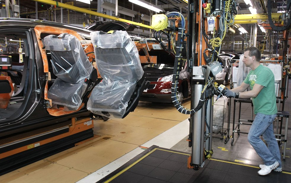general motors with lean manufacturing