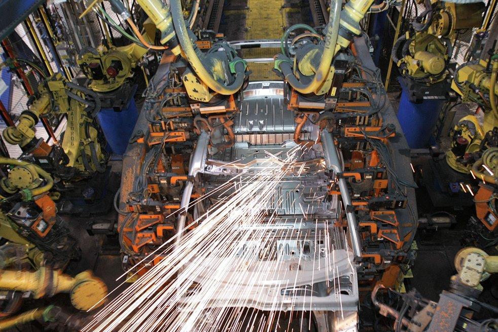 Экскурсия на завод Дженерал Моторс
