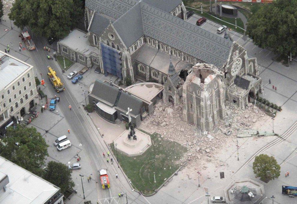 В Новой Зеландии произошло сильное землетрясение
