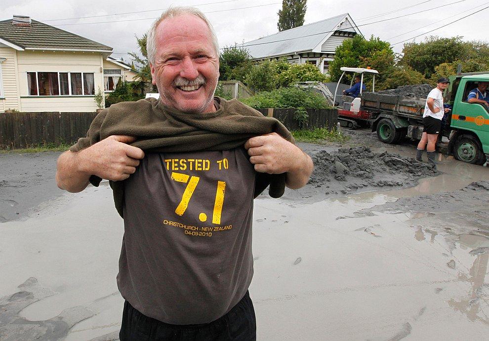 Новая Зеландия после землетрясения