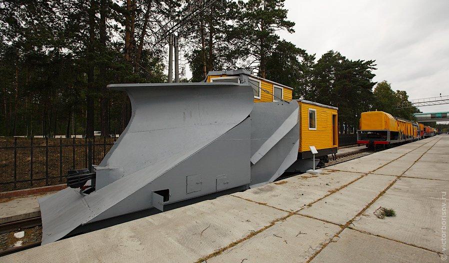 Новосибирский музей железнодорожной техники