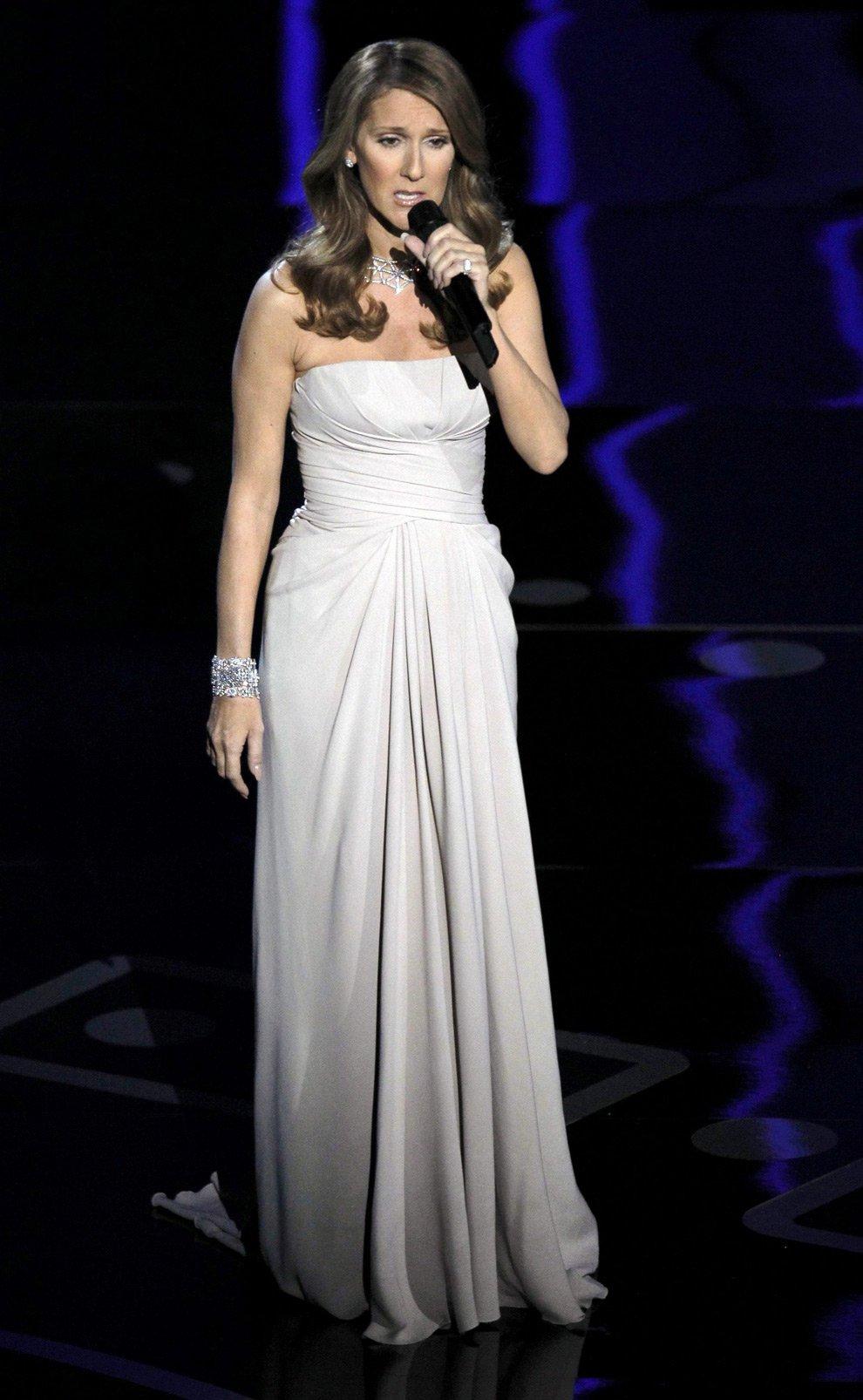 Канадская певица Селин Дион