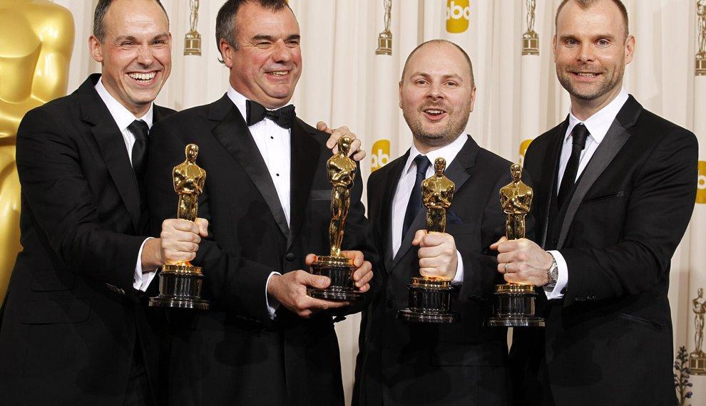 Команда создателей спецэффектов к фильму «Начало»
