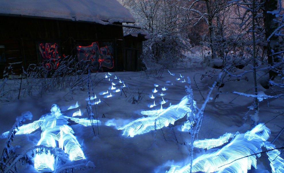 Световые картины от Janne Parviainen