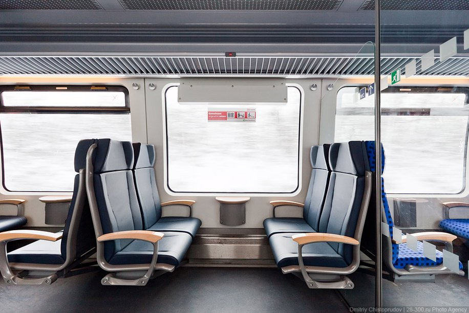 О немецких поездах и снежном городе Вайсенбург